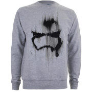 Star Wars Sweatshirt Masque de Stormtrooper -Junior -Gris Chiné