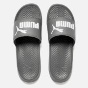 Puma Men's Popcat Slide Sandals - Grey/White