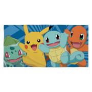 Pokémon Characters Towel