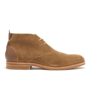 H Shoes by Hudson Men's Matteo Suede Chukka Boots - Tobacco