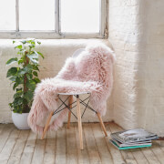 Royal Dream 100% Sheepskin Rug - Heavenly Pink