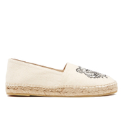 KENZO Women's Canvas Tiger Espadrilles - Putty