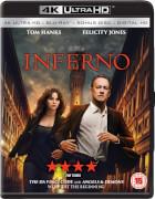 Inferno (3 Disc 4K Ultra HD, Blu-Ray & Bonus Blu-Ray)