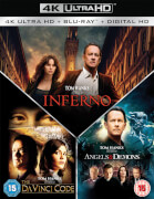 Inferno, Illuminati & The Da Vinci Code – Sakrileg 4K Ultra HD Boxset (7 Discs Set)