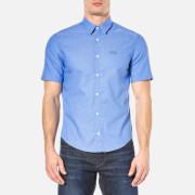 BOSS Green Men's Busterino Shirt - Medium Blue
