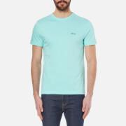 BOSS Green Men's Tee Basic T-Shirt - Open Blue