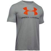 Under Armour Men's Sportstyle Logo T-Shirt - True Grey