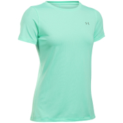 Under Armour Women's HeatGear Armour Short Sleeve T-Shirt - Crystal