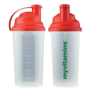 MyVitamins Christmas Shaker Bottle