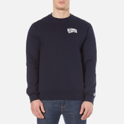 Billionaire Boys Club Men's Small Arch Logo Crew Neck Sweatshirt - Navy