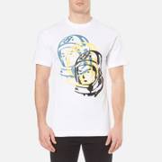 Billionaire Boys Club Men's Multi Helmet T-Shirt - White