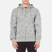 Billionaire Boys Club Men's Galaxy All Over Print Zipped Hoody - Heather