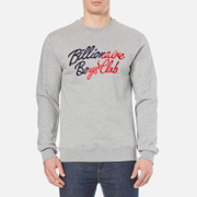 Billionaire Boys Club Men's Script Embroidered Sweatshirt - Heather