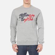 Billionaire Boys Club Men's Script Embroidered Sweatshirt - Heather