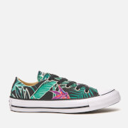 Converse Women's Chuck Taylor All Star Ox Trainers - Menta/Black/White