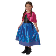 Disney Girls' Frozen Anna Fancy Dress Costume