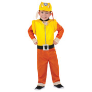Paw Patrol Boys' Rubble Fancy Dress Costume