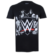 WWE Group Heren T-Shirt - Zwart