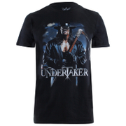 WWE Men's Undertaker Scythe T-Shirt - Black