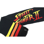 Bufanda Street Fighter - Negro