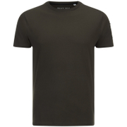 Brave Soul Men's Kershaw Pocket Sleeve T-Shirt - Khaki
