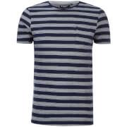 T-Shirt Gravel Brave Soul -Marine/Blanc