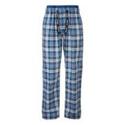 Pantalon de Pyjama Homme à Carreaux Golding Tokyo Laundry -Bleu
