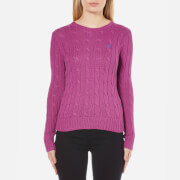 Polo Ralph Lauren Women's Julianna Crew Neck Jumper - Hyannis Purple