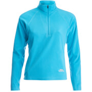 Trespass Women's Shiner Half Zip Fleece Jumper - Bermuda
