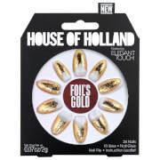 Elegant Touch House of Holland V Nails - Foils Gold