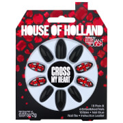 Elegant Touch House of Holland Party Nails - Cross My Heart