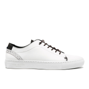 Ted Baker Men's Kiing Leather Cupsole Trainers - White