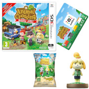 Animal Crossing: New Leaf - Welcome amiibo + Isabelle amiibo + Backpack Buddy