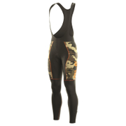 Alé PRR Roubaix Camo Bib Shorts - Black/Orange