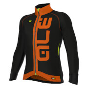 Alé PRR Arcobaleno Winter Jacket - Black/Orange