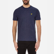 Lyle & Scott Men's Flecked T-Shirt - Navy