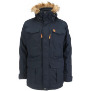 Fjallraven Men's Yupik Parka Jacket - Dark Navy