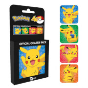 Pokémon Pikachu Coaster Pack