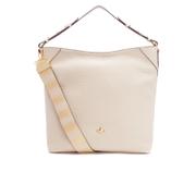 Vivienne Westwood Women's Belgravia Hobo Leather Bag - Beige