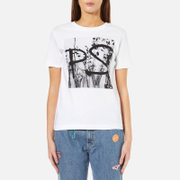 PS by Paul Smith Women's Logo Top - White