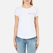 Maison Labiche Women's Crazy in Love T-Shirt - Blanc