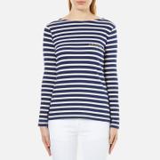 Maison Labiche Women's Amazing Long Sleeve T-Shirt - Bleu Et Blanc