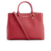 MICHAEL MICHAEL KORS Women's Savannah Large Satchel - Cherry