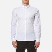 HUGO Men's Ero3 Long Sleeve Shirt - Open White
