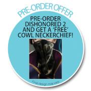 Dishonored 2 Pre-Order Sticker Cowl