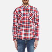 Barbour X Steve McQueen Men's Rebel Shirt - Red