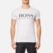 BOSS Orange Men's Tacket 1 Large Logo T-Shirt - Light Pastel Pink