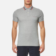 BOSS Orange Men's Cattitude Seersucker Shirt - Open Blue