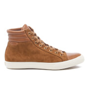 Polo Ralph Lauren Men's Geffron Hi-Top Trainers - Snuff/Polo Tan