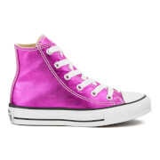 Converse Kids' Chuck Taylor All Star Hi-Top Trainers - Magenta Glow/Black/White